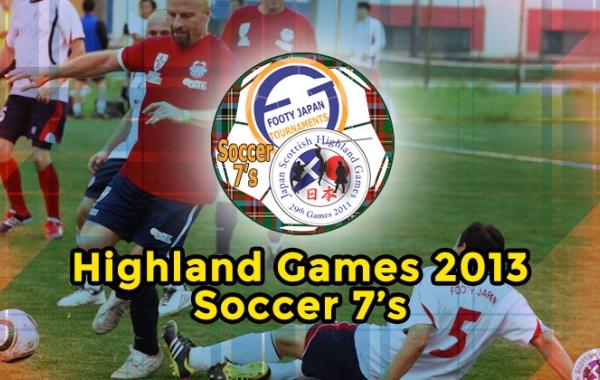 Highland Games 2013 Soccer 7's